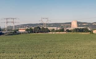 Illustration d'une centrale nucléaire (ici, Tricastin).