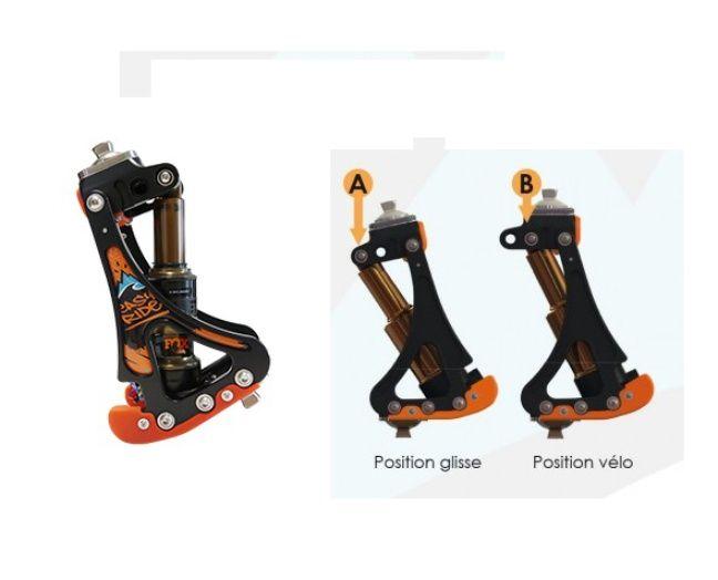 Le genou Easy Rider vendu par Proteor