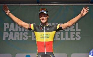 Le Belge Tom Boonen (Omega Pharma) a remporté pour la première fois de sa carrière la semi-classique cycliste Paris-Bruxelles en devançant au sprint l'Australien Renshaw et l'Espagnol Freire, samedi à l'ombre du stade Roi Baudouin dans la capitale belge.