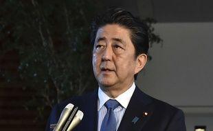 Le Premier ministre japonais «Abe Shinzo» en juin 2018.