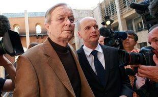 Maurice Agnelet lors de son procès en appel en septembre 2007, à Aix-en-Provence.
