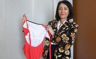 Avec sa sœur, l'Antiboise Françoise Piazzolla a créé la marque Fan et Lia, et des maillots de bain pour les femmes traitées par radiothérapie.