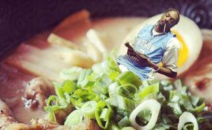 Sur Instagram, un internaute s'amuse à incruster des stars dans les fameux plats japonais…