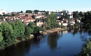 Limoges, quartier du Pont-Neuf.