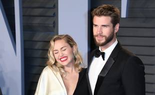 Les époux Miley Cyrus et Liam Hemsworth