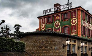 « L'auberge du Pont de Collonges », le restaurant mythique de Paul Bocuse, le 20 janvier 2018.