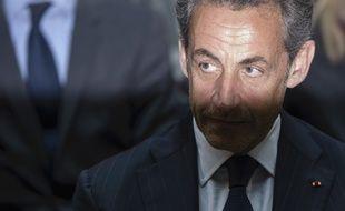 Nicolas Sarkozy, placé en garde à vue le mardi 1er juillet.