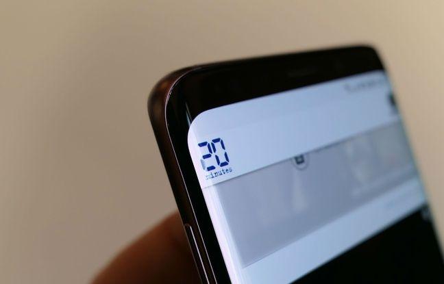 Les S9 et S9+ conserve l'écran aux bords incurvés des S8 et S8+.