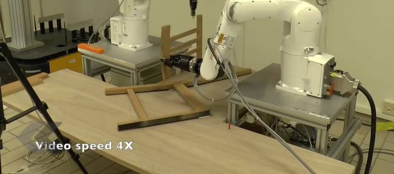 Ce robot monte une chaise Ikea plus vite que vous - Le Rewind (video)