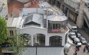 La Brasserie Barbès vue du dernier étage du magasin Tati