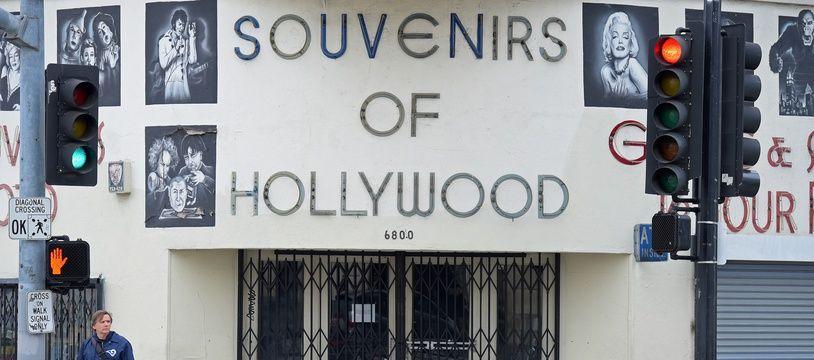 A Los Angeles, pendant le confinement, le 20 mars 2020.