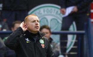 Le manager du Celtic Glasgow, Neil Lennon, lors d'un match de son équipe contre Aberdeen, le 17 janvier 2011 à Glasgow.