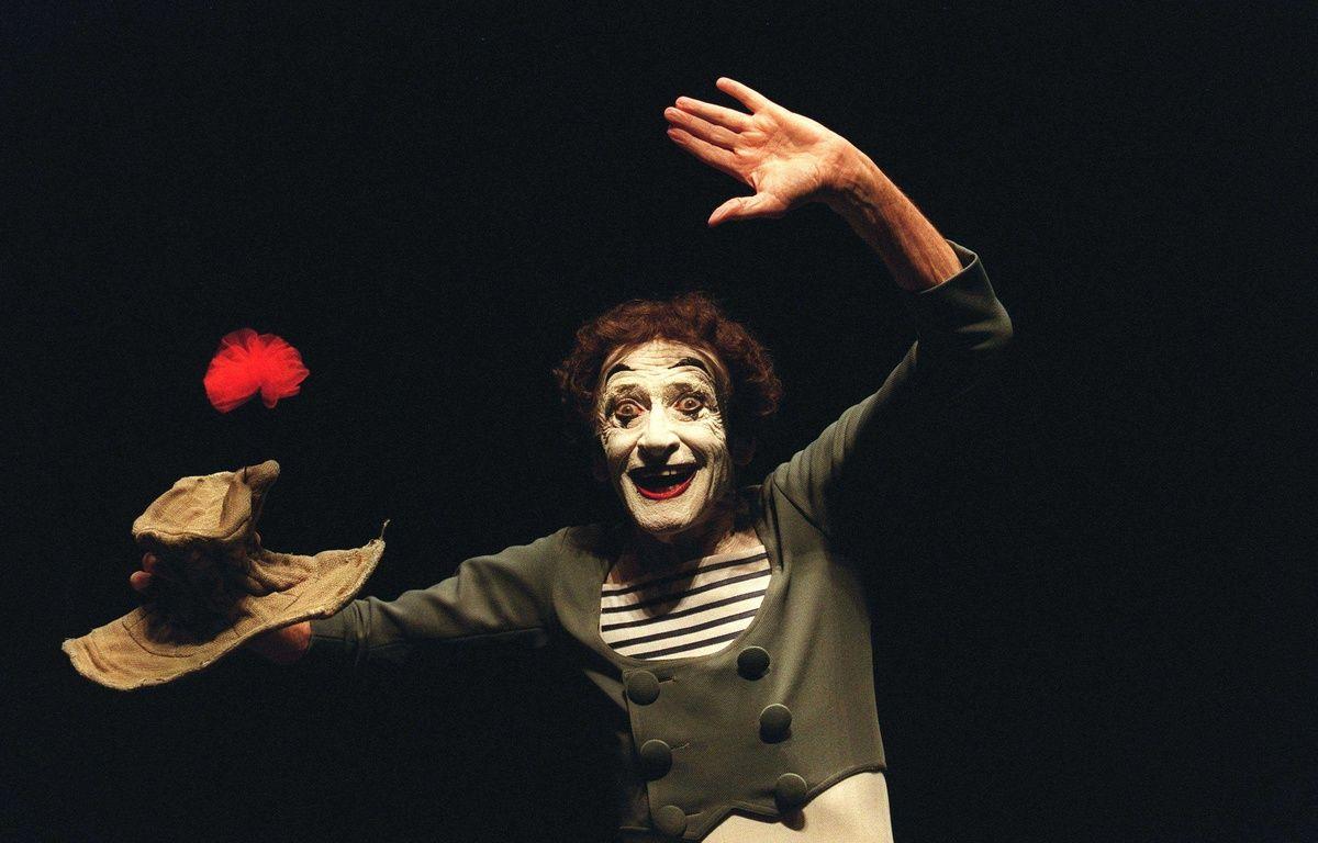 Strasbourg va rendre ses lettres de noblesse à l'art du mime avec une exposition sur Marcel Marceau. (Archives) – LECARPENTIER/SIPA