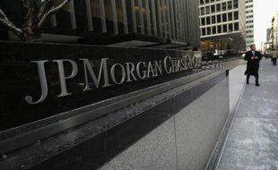 Le siège de JPMorgan Chase, le 8 janvier 2014 à Manhattan