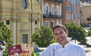 Auparavant chef de cuisine, Luc Salsedo a fermé son restaurant en 2015 pour monter sa marque de chips de socca.