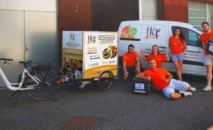 Hop'lunch a séduit 1200 clients en une année