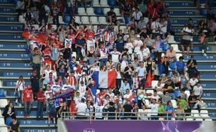 Les supporters lyonnais ont su se faire entendre jeudi dans le stade de Reggio Emilia.