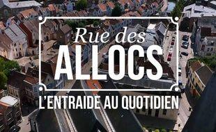 Image extraite du générique des deux derniers épisodes de « Rue des allocs ».