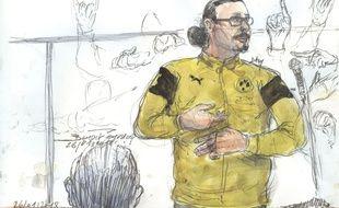 Jawad Bendaoud est jugé pour recel de malfaiteurs terroristes par le tribunal correctionnel de Paris.