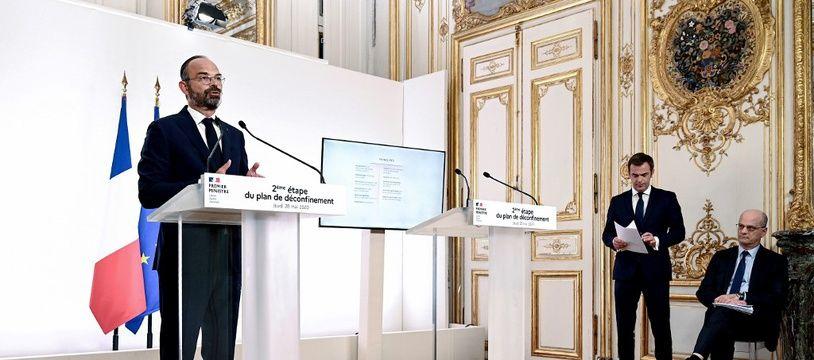 Edourd Philippe, le 28 mai 2020.