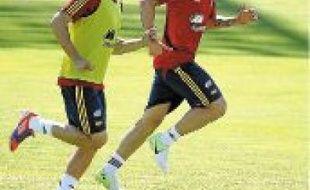 Alvaro Negredo et Fernando Torres.