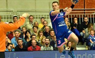 Les cinq buts de Maxime Derbier n'ont pas suffi à Cesson contre Tremblay, jeudi soir.