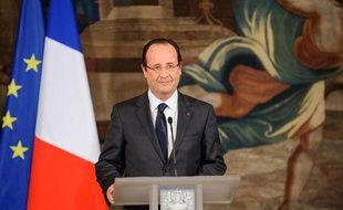 FrançoisHollande à Paris, le 6 décembre 2012.