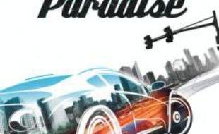 """Jaquette de """"Burnout Paradise"""", de EA games, sur Xbox 360"""