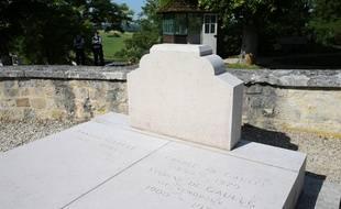 La tombe du général de Gaulle a été vandalisée samedi dernier