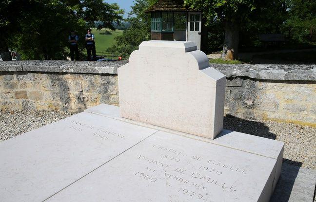 Tombe du général de Gaulle vandalisée: Le suspect, «fortement alcoolisé» au moment des faits, sera jugé vendredi dans actualitas dimanche 648x415_tombe-general-gaulle-vandalisee-samedi-dernier
