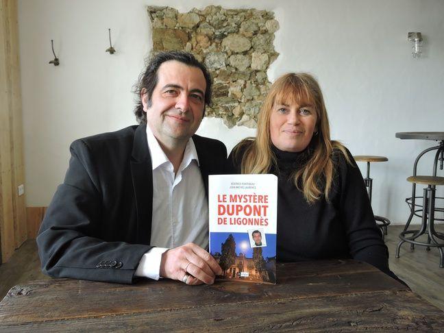 Jean-Michel Laurence et Béatrice Fonteneau, journalistes et auteurs du livre «Le mystère Dupont de Ligonnès».