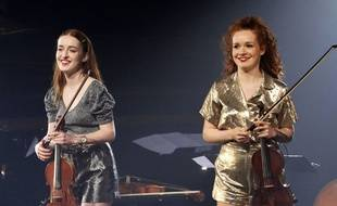Les soeurs Camille et Julie Berthollet en concert au Théâtre Alexandre Dumas à Saint-Germain-en-Laye fin 2019