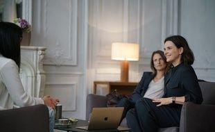 Juliette Binoche dans la saison 2 de «Dix pour cent» sur France 2