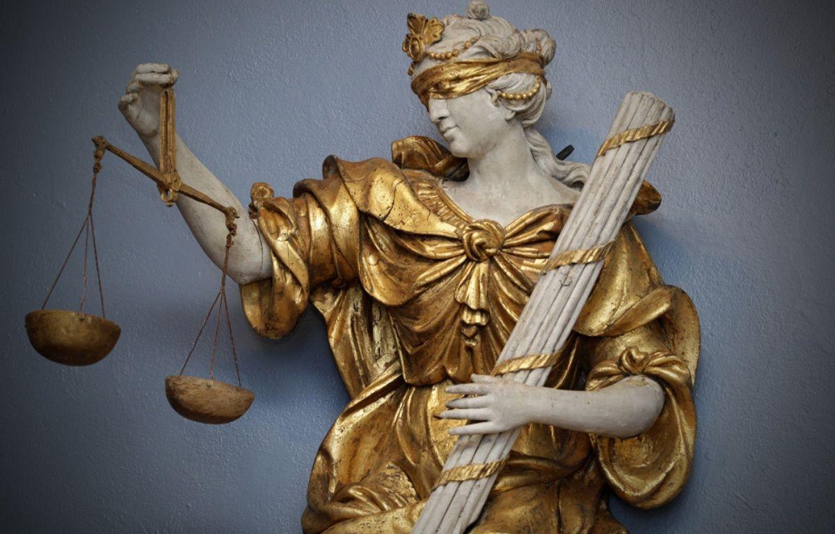 Une allégorie de la justice, à Lille. – M.Libert / 20 Minutes
