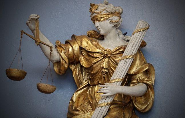 Une allégorie de la justice, à Lille.