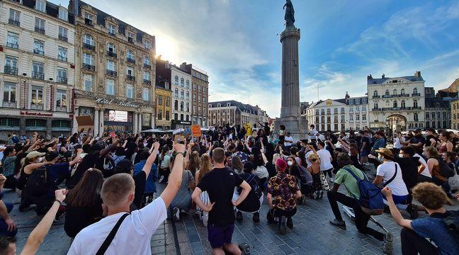 2.500 personnes manifestent contre les violences policières à Lille