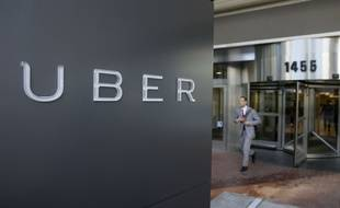 Illustration du siège social de Uber à San Francisco.
