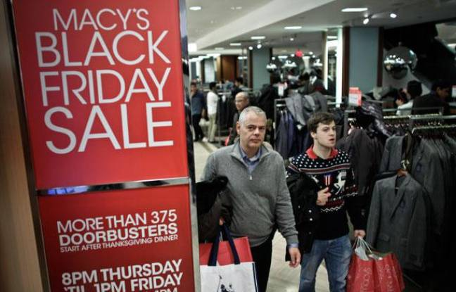Le Black Friday chez Macy's, un grand magasin new-yorkais.