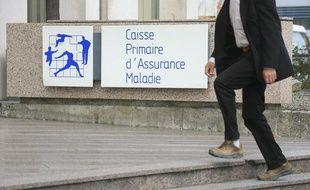 Illustration, une antenne de la sécurité sociale, Caisse primaire d'assurance maladie à Toulouse.