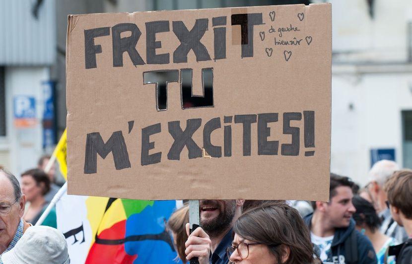 Brexit : Les partisans du Frexit font la fête en rêvant de quitter l'UE