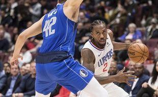 Champion NBA en titre avec les Raptors, Kawhi Leoanrd a rejoint les Clippers à l'intersaison.