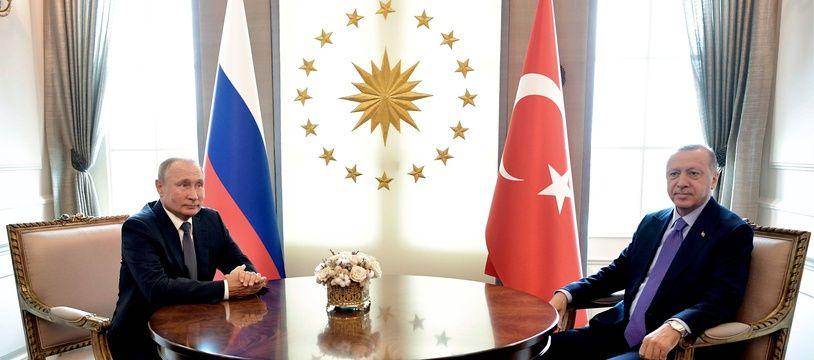 Erdogan rencontrera Poutine le 22 octobre (Archives)