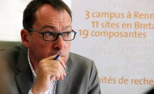 Le président de l'université Rennes-II Olivier David.