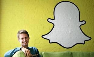 Le confondateur et directeur général de Snapchat, Evan Spiegel.