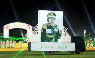 Le son et lumière organisé hier soir par le Guide libyen à Tripoli.
