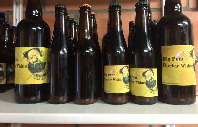 Certains n'ont pas le temps de poser les étiquettes que les bières sont bues...