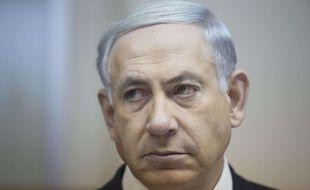 Benyamin Netanyahou à Jérusalem le 15 février 2015.