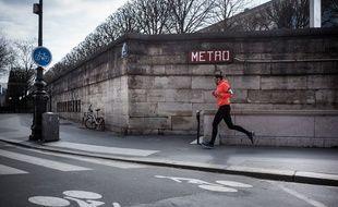 Un runner à Paris