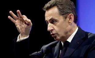 """Nicolas Sarkozy a dénoncé, mardi, devant des patrons du bâtiment, la présence parmi les chefs d'entreprises de quelques """"brebis galeuses"""", qui ont des """"comportements extrêmement choquants""""."""