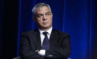 Le patron de la Direction générale de la sécurité intérieure (DGSI) Patrick Calvar à Paris le 13 octobre 2015
